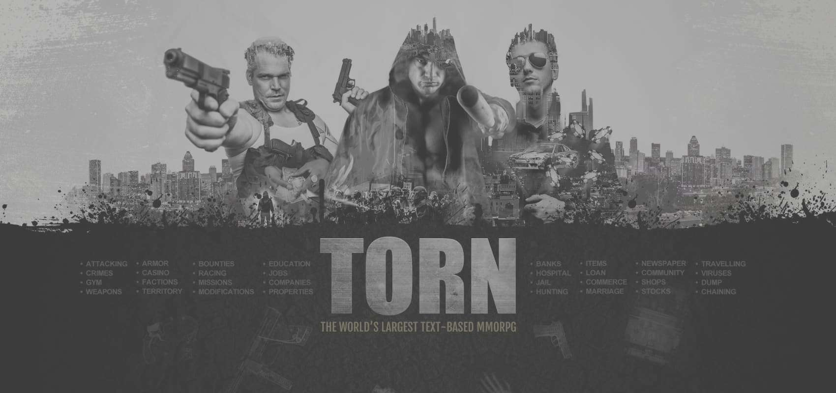 """World's largest text-based MMORPG """"TORN"""" launches on iOS"""