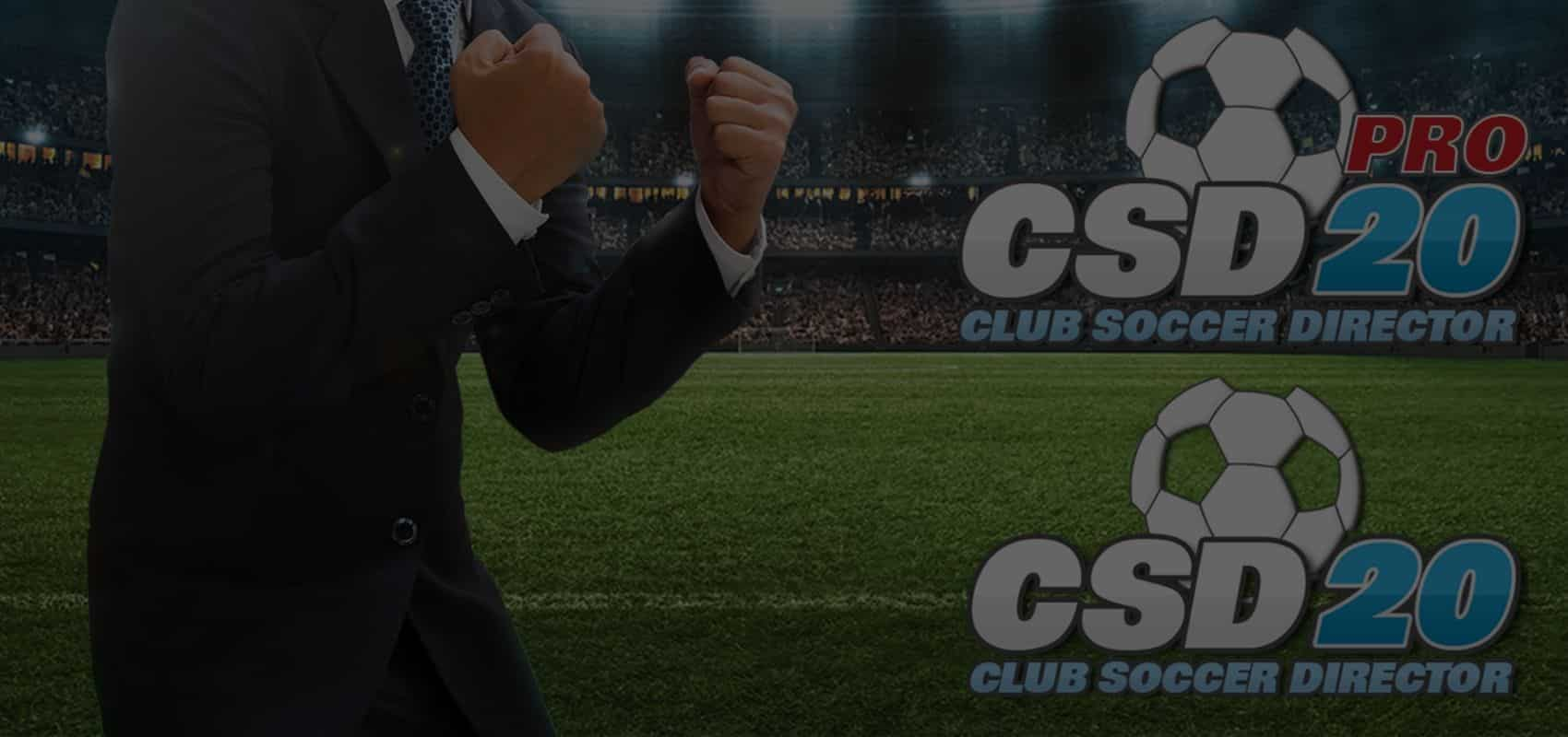 Club Soccer Director makes its PC debut with PRO version