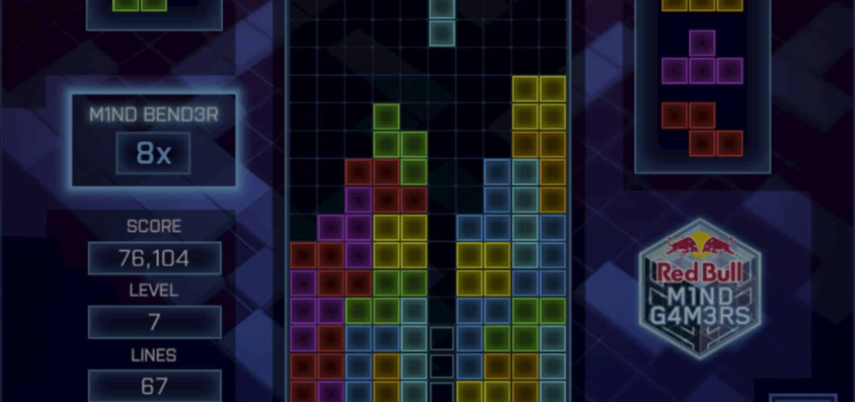 Red Bull Mind Gamers New 'Mind Challenge' Site Launches With All New Tetris Game