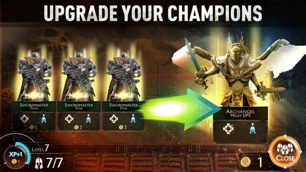 05 UPGRADE YOUR CHAMPIONS