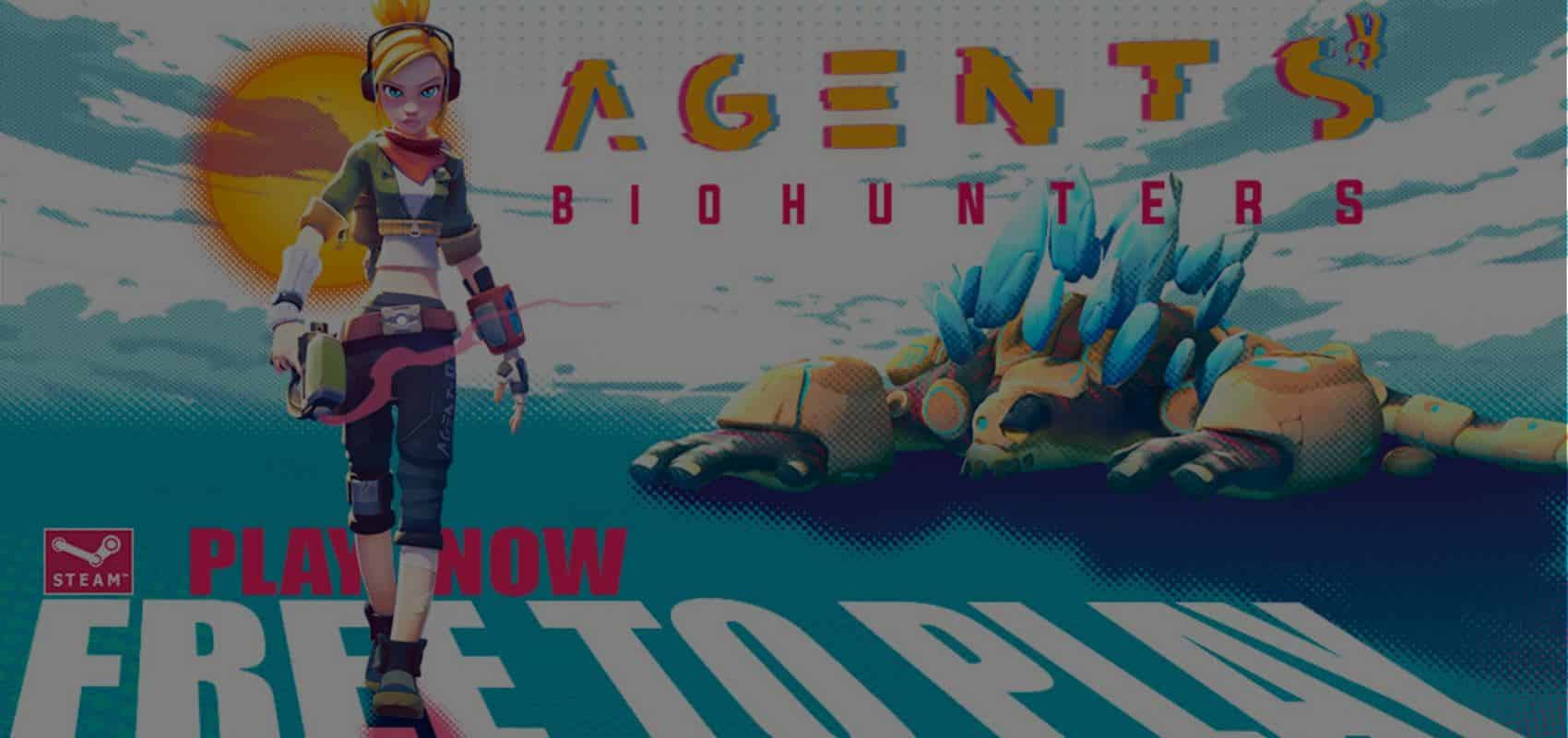 Team up and take down colossal creatures in Agents: Biohunters now in Early Access