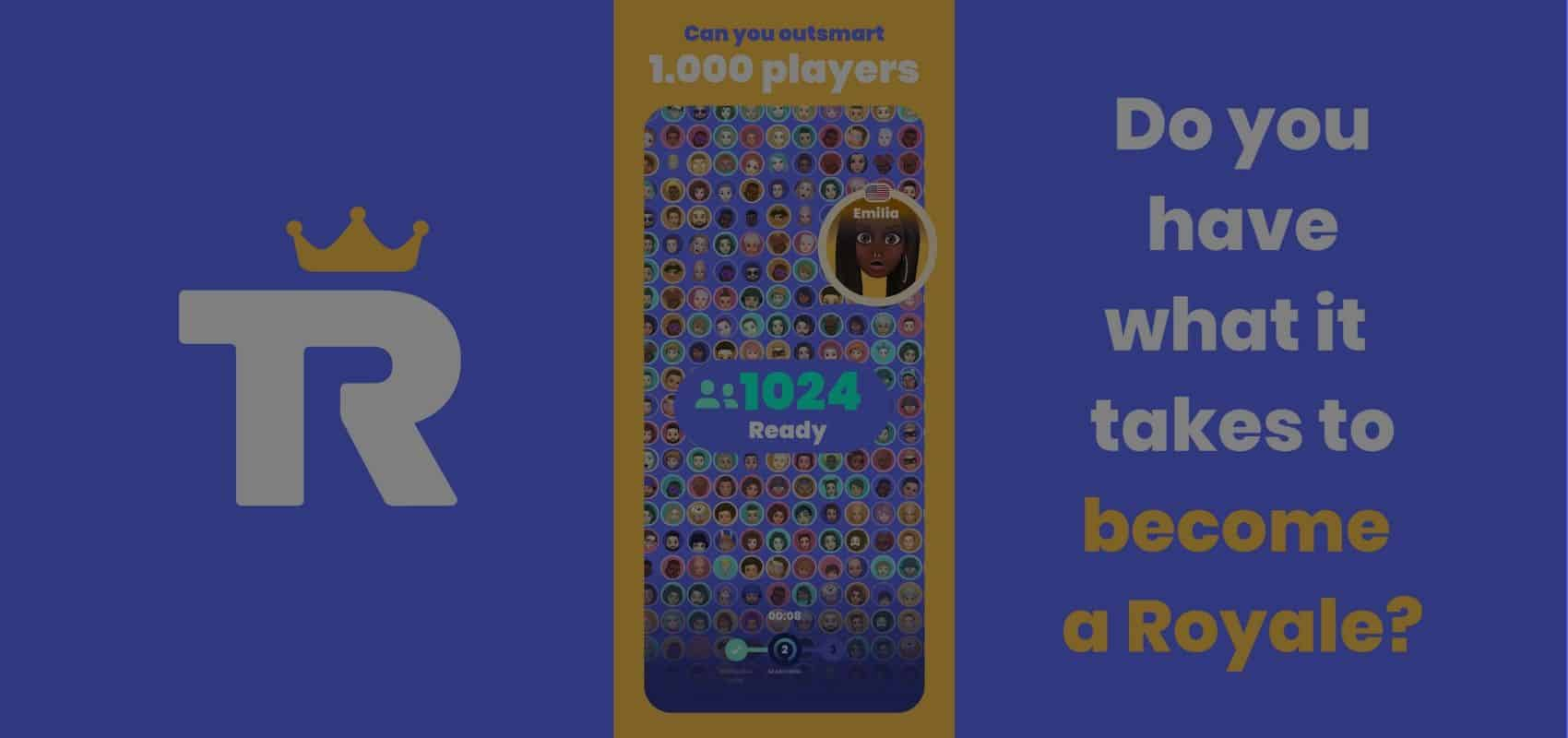 Outsmart 1000 other players & become quiz royalty as Trivia Royale launches on the App Store