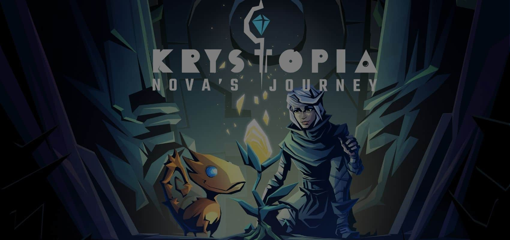 Return to Krystopia in Krystopia: Nova's Journey, out now on mobile and PC