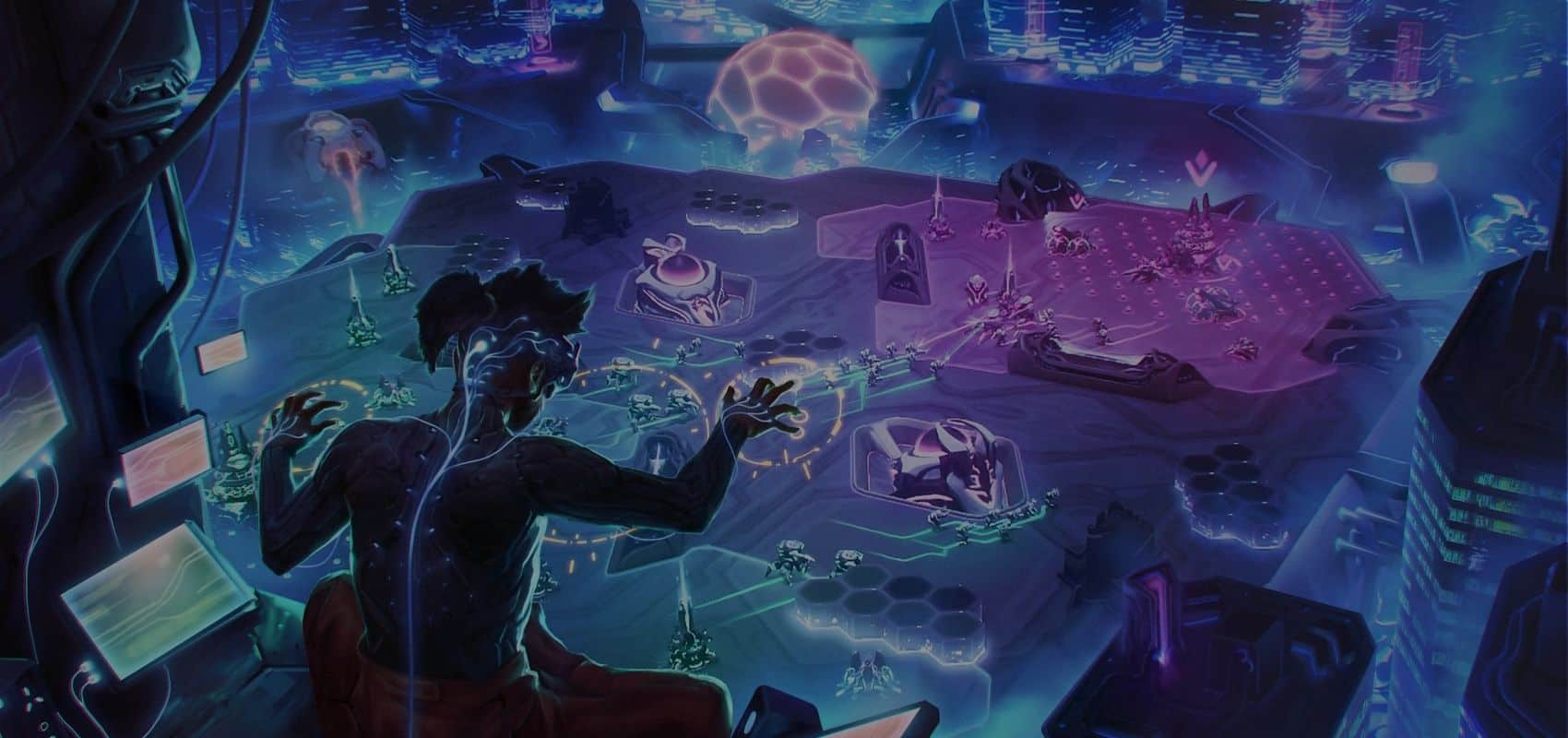 Post-cyberpunk strategy game NeuroSlicers is coming to reroute the synaptic pathways of the RTS genre on PC