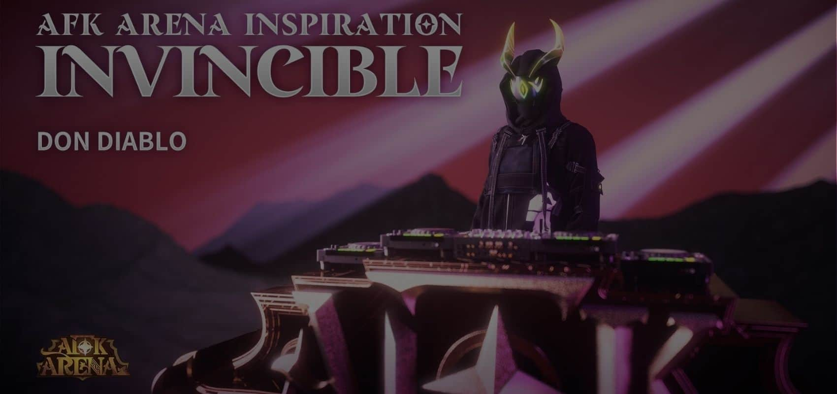 AFK Arena collaborates with top DJ, Don Diablo for new track 'Invincible'