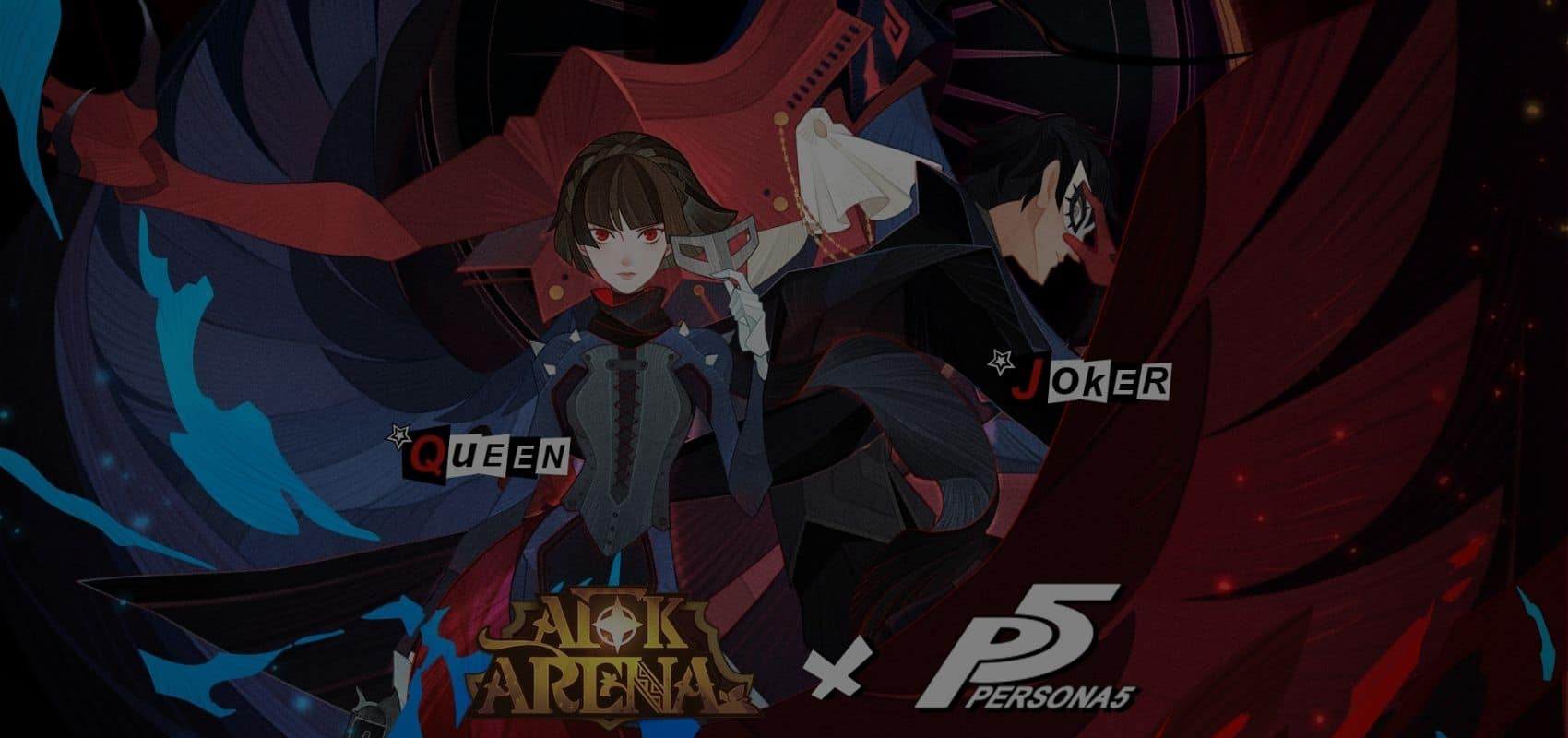 The Phantom Thieves escape PERSONA5 and join the epic Hero line-up in AFK Arena