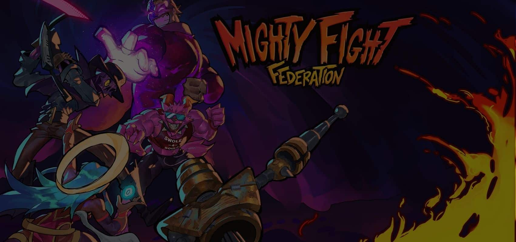 Become King of the Ring in Mighty Fight Federation, the hypest Arena fighter in the galaxy on PC and PlayStation