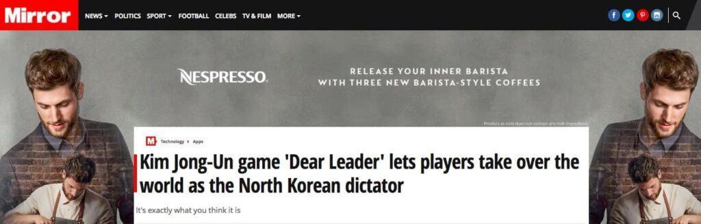 Dear Leader results