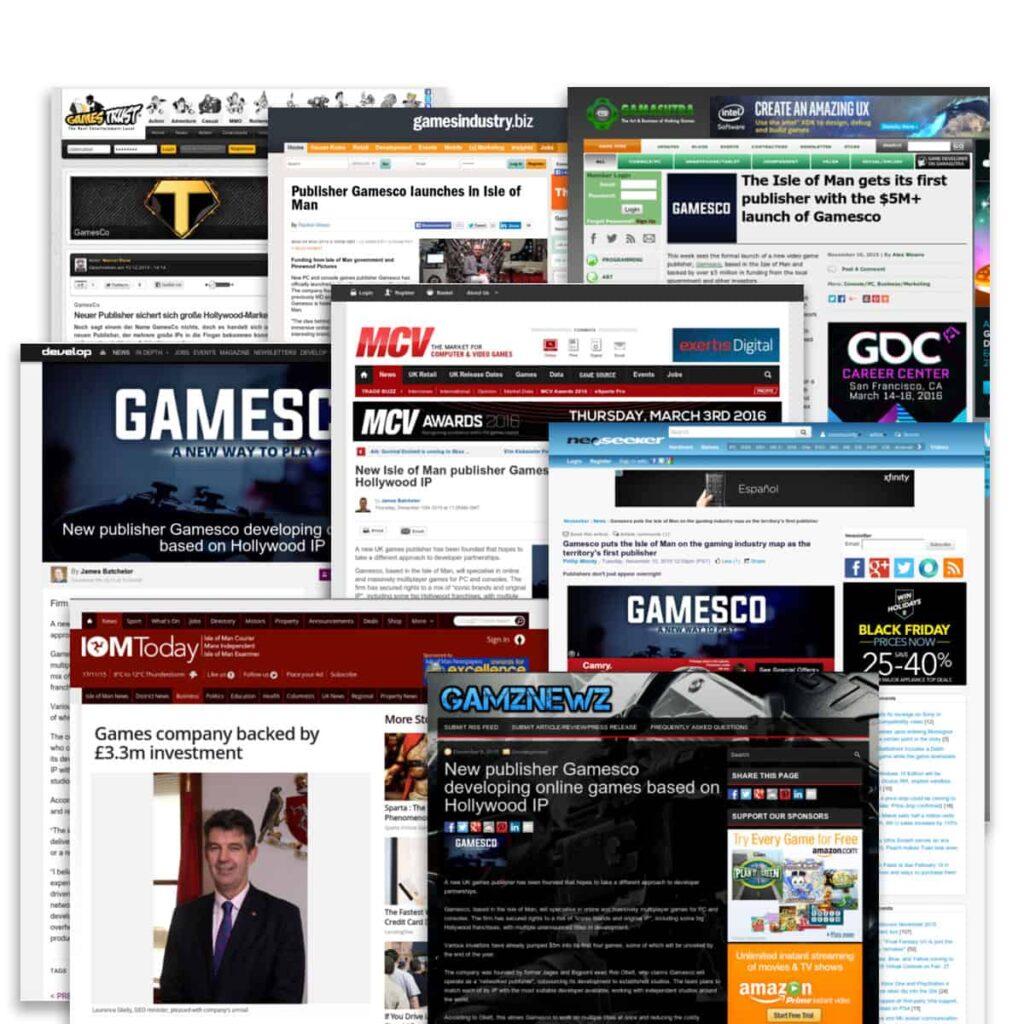Gamesco coverage montage 1
