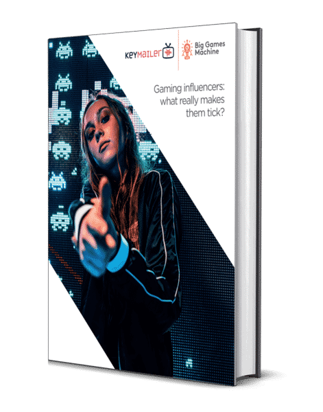 Game influencers ebook cover